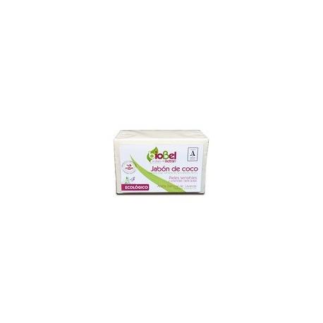 Pastilla de Jabón Natural de Coco 240 Gr (Biobel)