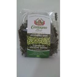 Espirales de Lentejas Verdes 250 Gr (Castagno)
