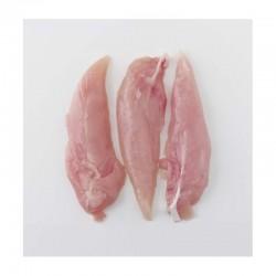 Solomillos de Pechuga de Pollo Ecológico, Pack 0,250 Kg