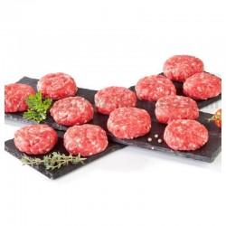 Mini Hamburguesas de Ternera Asturiana Ecológica , Pack 8 x 25 Gr