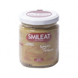 Potito Ternera con Verduras 230 Gr (Smileat)