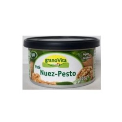 Pate Bio Nuez-Pesto 125 Gr (Granovita)