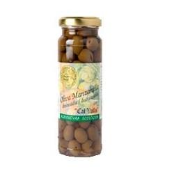 Aceituna Manzanilla Sin Hueso Eco 170 Gr (Cal Valls)