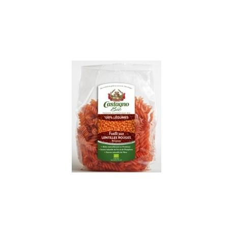 Espirales de Lentejas Rojas 250 gr (Castagno)