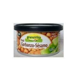 Paté de Garbanzo y Sésamo 125 Gr (Granovita)