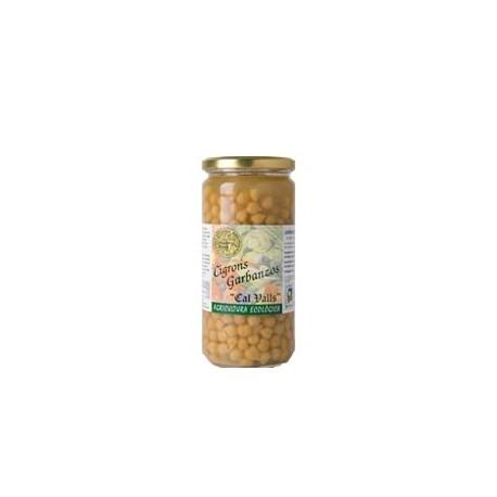 Garbanzos Cocidos Bio 660 Gr (Cal Valls)