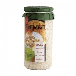 Alubias Blancas al Natural 660 Gr (Monjardin Organic)