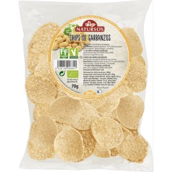 Chips de Garbanzos 70 Gr (Natursoy)