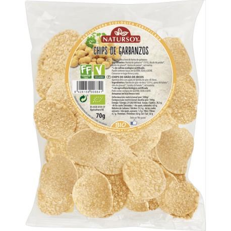 Chips de Garbanzos 70 Gr (Natursoy)