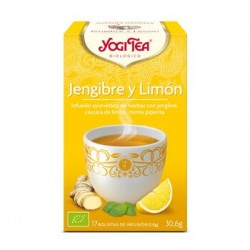 Yogi Tea Jengibre y Limón 17 x 1.8 Gr (Yogi Tea)