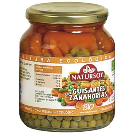 Guisantes y Zanahoria 350 Gr (Natursoy)