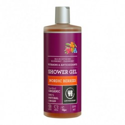 Gel de Baño Frutos Rojos 500 Ml (Urtekram)