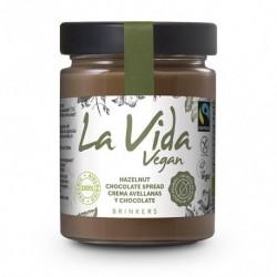 Crema de Chocolate con Avellanas Vegana 270 Gr (La Vida Vegan)