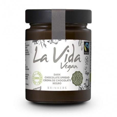 Crema de Chocolate Negro Vegana 270 Gr (La Vida Vegan)
