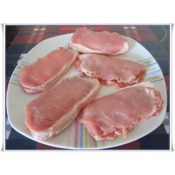Libritos de Lomo Fresco Relleno de Jamón de Cerdo y Queso 500 Gr Aprox (Madrygall)