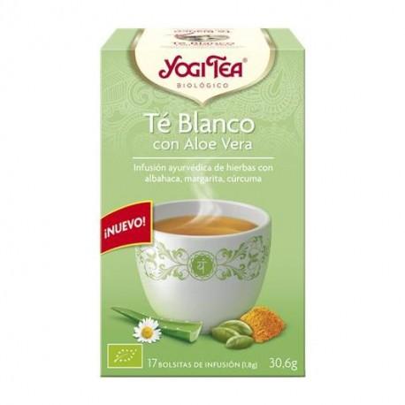 Yogi Tea Té Blanco y Aloe Vera 17 x 1.8 Gr (Yogi Tea)