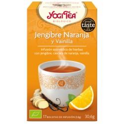 Yogi Tea Jengibre, Naranja y Vainilla 17 x 1.8 Gr (Yogi Tea)