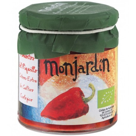 Pimientos del Piquillos Enteros Extra 200 Gr (Monjardin Organic)