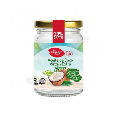 Aceite de Coco Virgen Extra 500 Ml (El Granero)