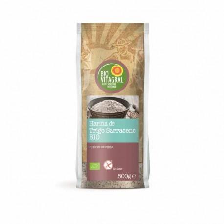 Harina de Trigo Sarraceno Sin Gluten 500 Gr (Biovitagral)