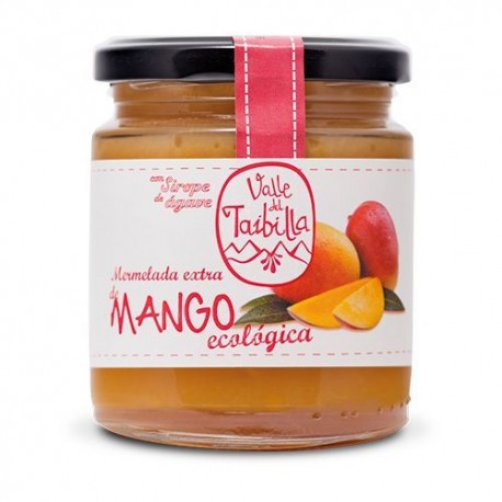 Mermelada de Mango con Sirope de Agave 260 Gr (Valle del Taibilla)