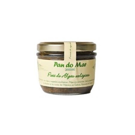 Paté de Algas Ecológicas 125 Gr (Pan do mar)