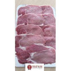 Cinta de Lomo de Cerdo Fresca Ecológica, Pack 0,4 Kg