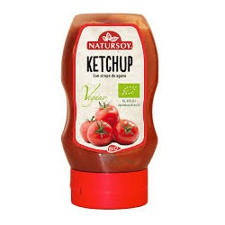 Ketchup con Sirope de Agave 270 Gr (Natursoy)