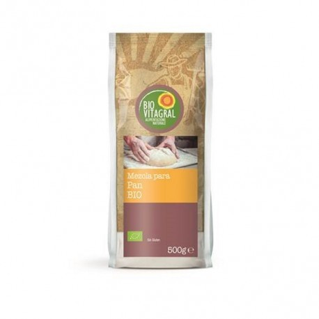 Mezcla para Pan Sin Gluten 500 Gr (BioVitagral)