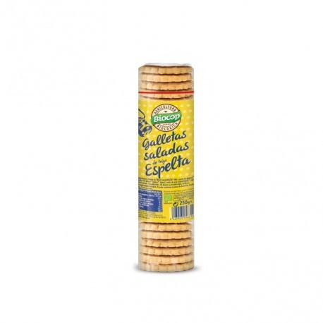 Galleta Salada de Espelta 250 Gr (Biocop)