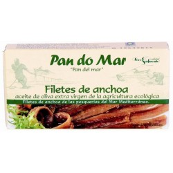 Filetes de Anchoa 50 Gr (Pan do mar)