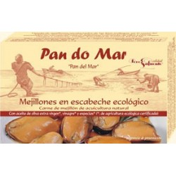 Mejillones en Escabeche 115 Gr (Pan do mar)