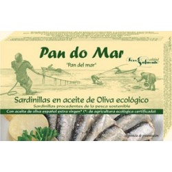Sardinillas en Aceite de Oliva 120 Gr (Pan do mar)