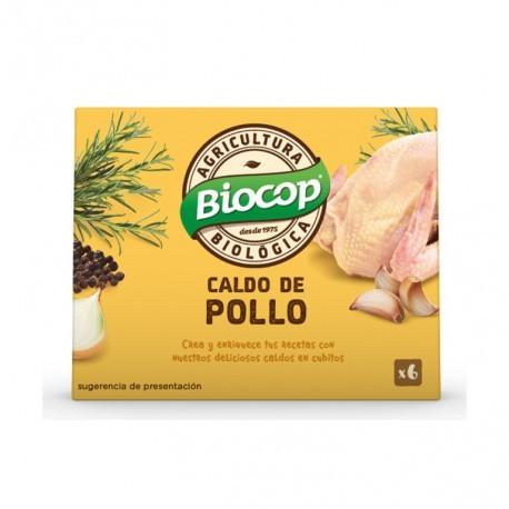 Caldo de Pollo en Cubitos 6x11 Gr (Biocop)