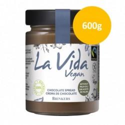 Crema de Chocolate Vegana 600 Gr (La Vida Vegan)