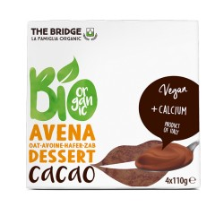 Postre de Avena y Chocolate Pack 4 x 110 Gr (The Bridge)