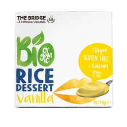 Postre de Arroz y Vainilla Pack 4 x 110 Gr (The Bridge)