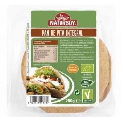 Pan de Pita Integral 280 Gr (Natursoy)