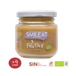 Potito de 3 Frutas 130 Gr (Smileat)