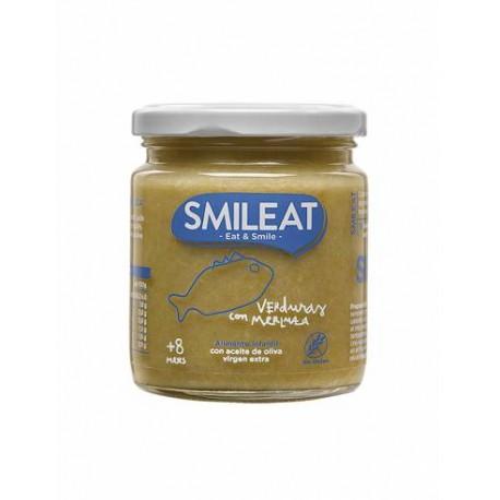Potito de Verduras con Merluza 230 Gr (Smileat)