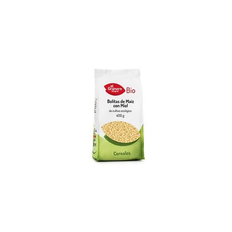 Bolitas de Maiz con Miel Bio 400 Gr (El Granero)
