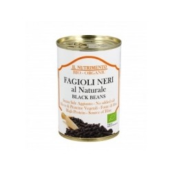 Alubia Negra Cocida Sin Sal 400 Gr (Nutrimento)