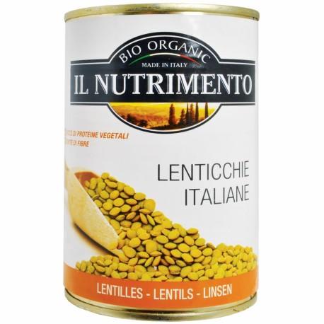 Lentejas Cocidas Sin Sal 400 Gr (Nutrimento)