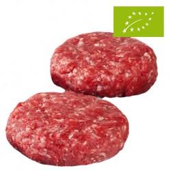 Hamburguesas de Ternera Asturiana Ecológica, Pack 4 x 125 Gr (Bioastur)