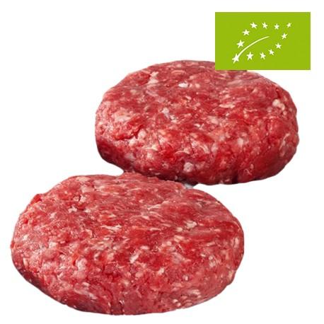 Hamburguesas de Ternera Asturiana Ecológica, Pack2 x 100 Gr (Bioastur)