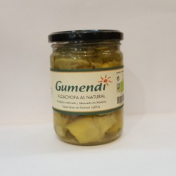 Alcachofas al Natural 400 Gr (Gumendi)