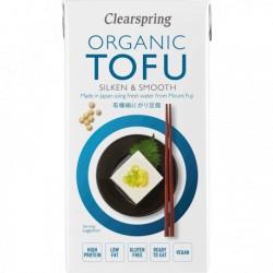 Tofu Sedoso Japonés 300 Gr (Clearspring)