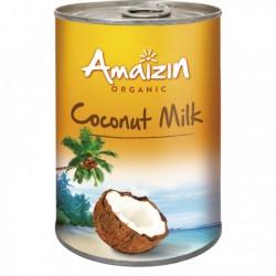 Leche de Coco Bio, Lata 400 Ml (Amaizin)