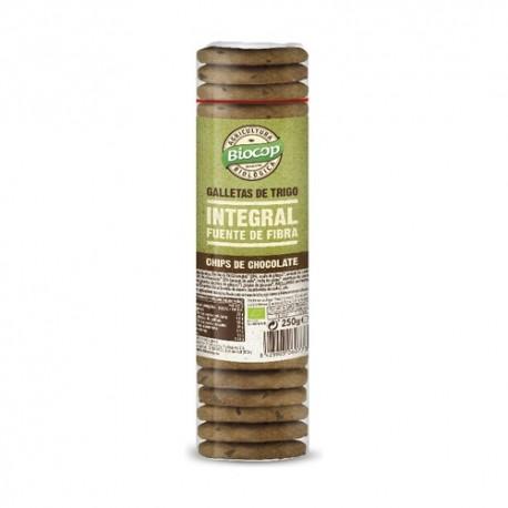 Galletas de Trigo Integral con Chocolate 250 Gr (Biocop)