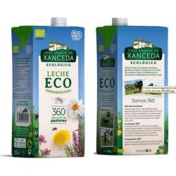 Leche Eco Semidesnatada, Pack 6 L (Casa Grande de Xanceda)